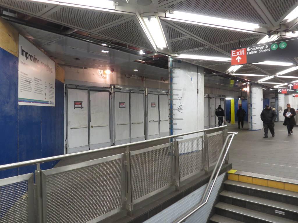 (128k, 1024x768)<br><b>Country:</b> United States<br><b>City:</b> New York<br><b>System:</b> New York City Transit<br><b>Location:</b> Fulton Street Transit Center<br><b>Photo by:</b> Robbie Rosenfeld<br><b>Date:</b> 1/15/2014<br><b>Viewed (this week/total):</b> 0 / 488