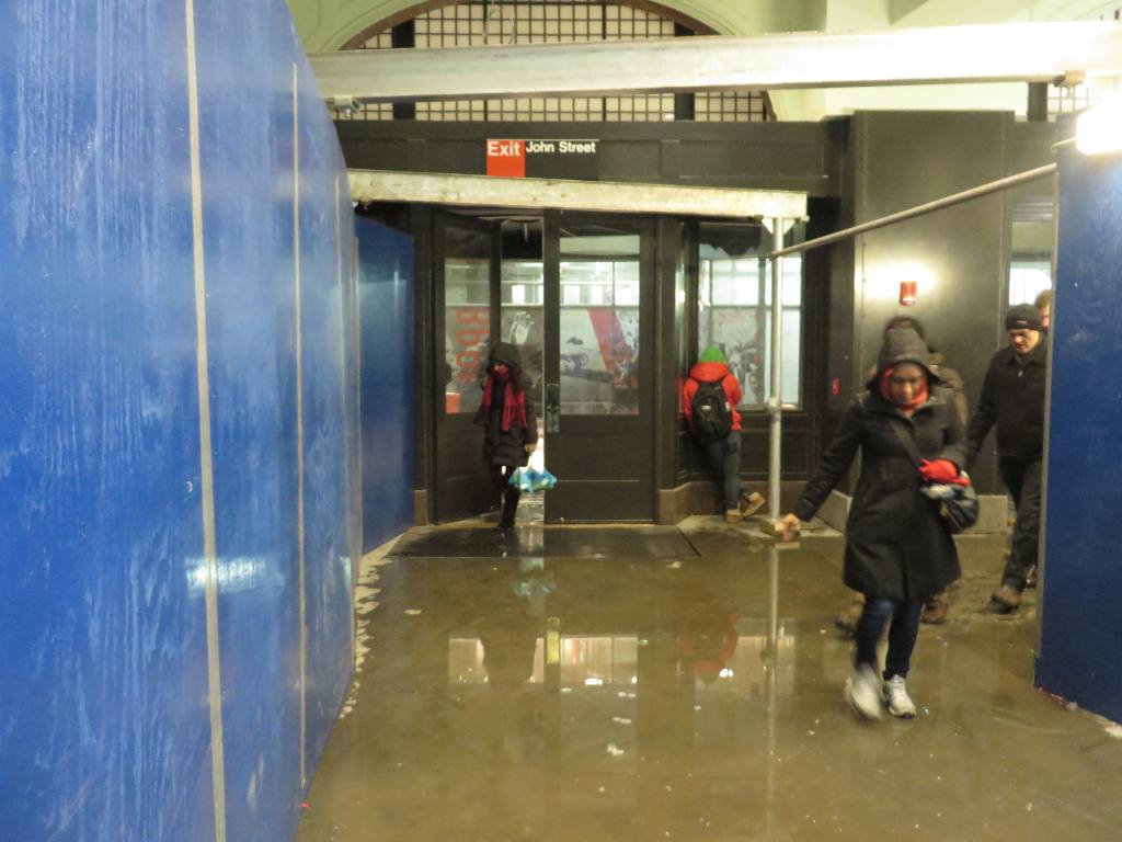 (100k, 1024x768)<br><b>Country:</b> United States<br><b>City:</b> New York<br><b>System:</b> New York City Transit<br><b>Location:</b> Fulton Street Transit Center<br><b>Photo by:</b> Robbie Rosenfeld<br><b>Date:</b> 1/21/2014<br><b>Notes:</b> Corbin Bldg entrance<br><b>Viewed (this week/total):</b> 3 / 507