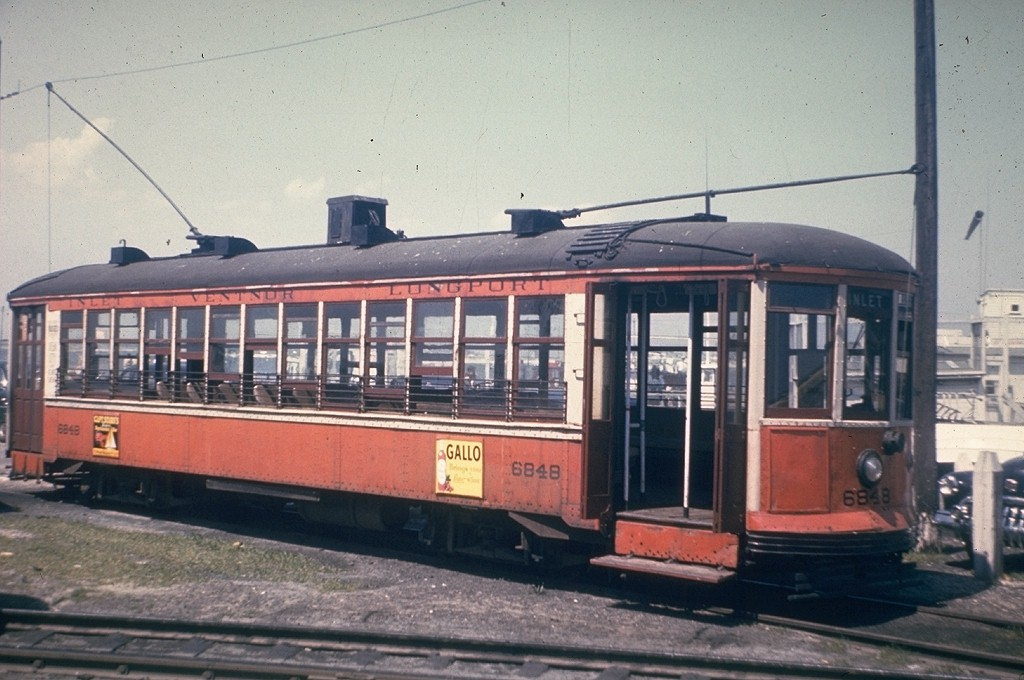 (178k, 1024x680)<br><b>Country:</b> United States<br><b>City:</b> Atlantic City, NJ<br><b>System:</b> Atlantic City Transit<br><b>Car:</b>  6848 <br><b>Collection of:</b> Joe Testagrose<br><b>Notes:</b> At Inlet<br><b>Viewed (this week/total):</b> 0 / 1463