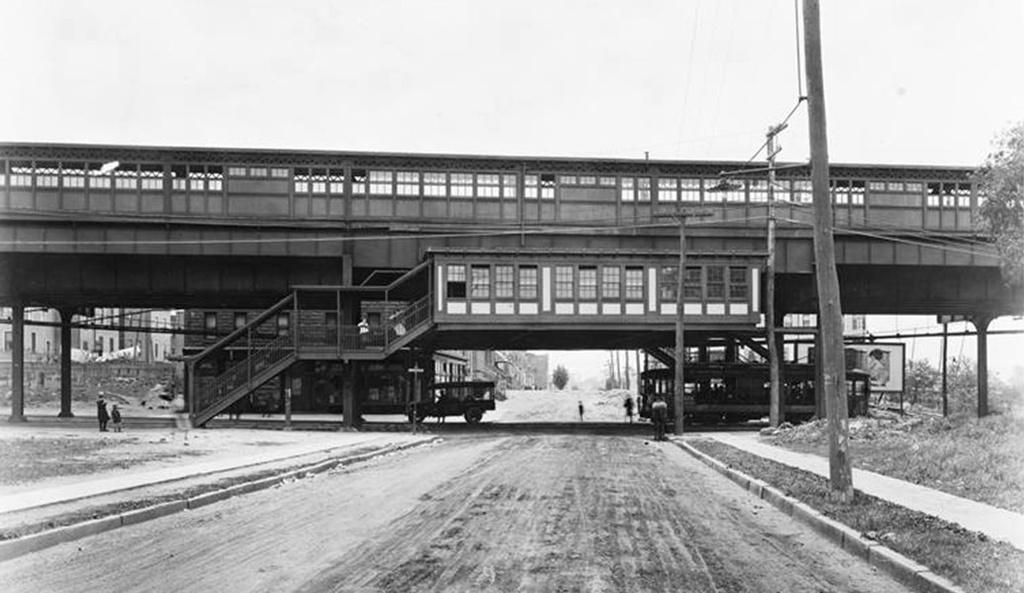 (183k, 1024x593)<br><b>Country:</b> United States<br><b>City:</b> New York<br><b>System:</b> New York City Transit<br><b>Line:</b> IRT Pelham Line<br><b>Location:</b> Elder Avenue <br><b>Collection of:</b> Frank Pfuhler<br><b>Date:</b> 1920<br><b>Viewed (this week/total):</b> 0 / 740