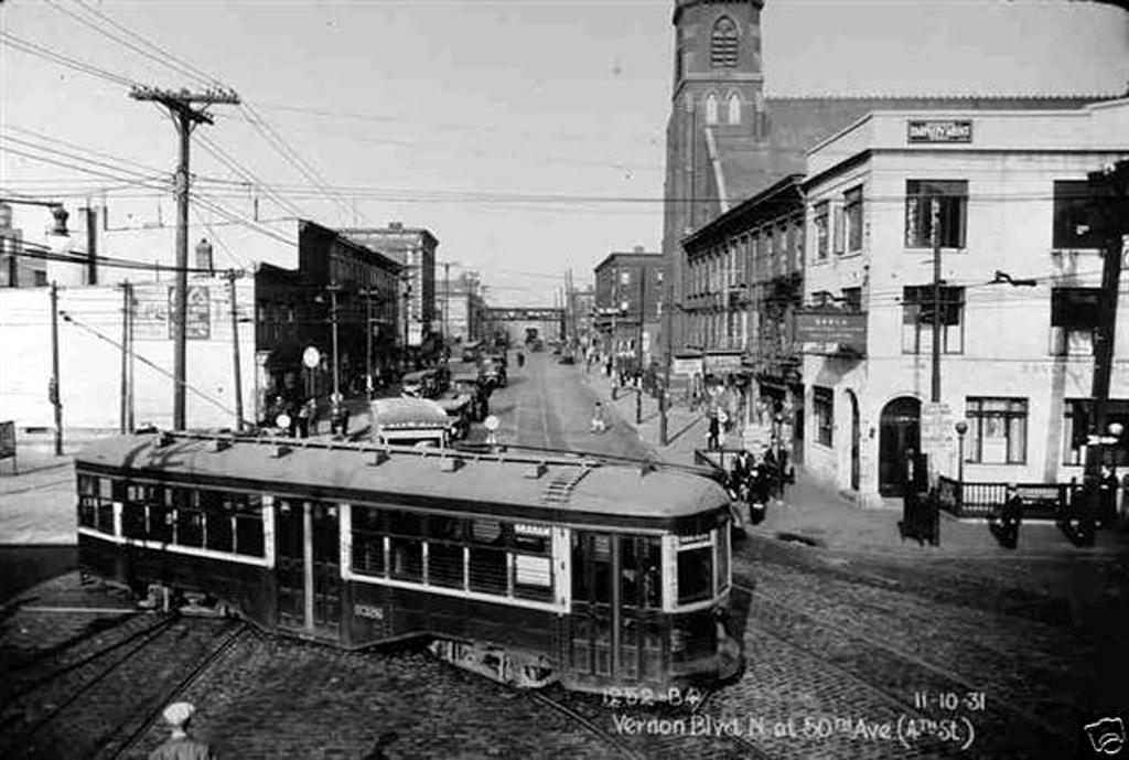 (213k, 1024x689)<br><b>Country:</b> United States<br><b>City:</b> New York<br><b>System:</b> Brooklyn & Queens Transit<br><b>Car:</b> B&QT/BMT 8xxx <br><b>Collection of:</b> Frank Pfuhler<br><b>Date:</b> 10/11/1931<br><b>Notes:</b> vernon blvd n. of 50 av 4 st <br><b>Viewed (this week/total):</b> 0 / 478