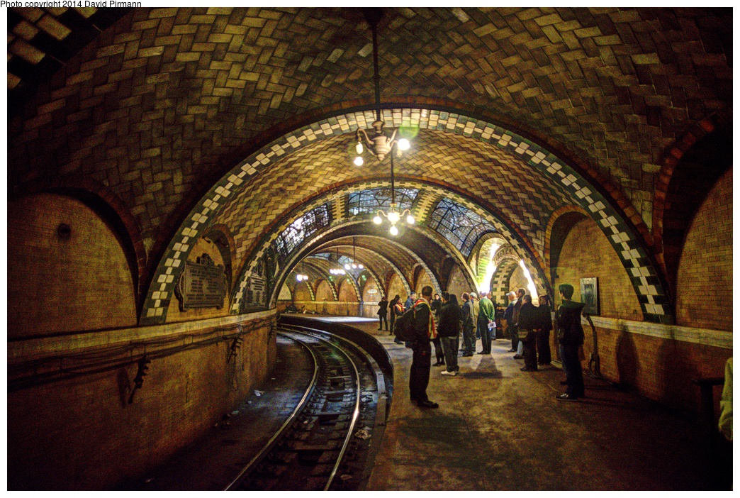 (415k, 1044x702)<br><b>Country:</b> United States<br><b>City:</b> New York<br><b>System:</b> New York City Transit<br><b>Line:</b> IRT East Side Line<br><b>Location:</b> City Hall <br><b>Photo by:</b> David Pirmann<br><b>Date:</b> 4/13/2013<br><b>Viewed (this week/total):</b> 0 / 2571