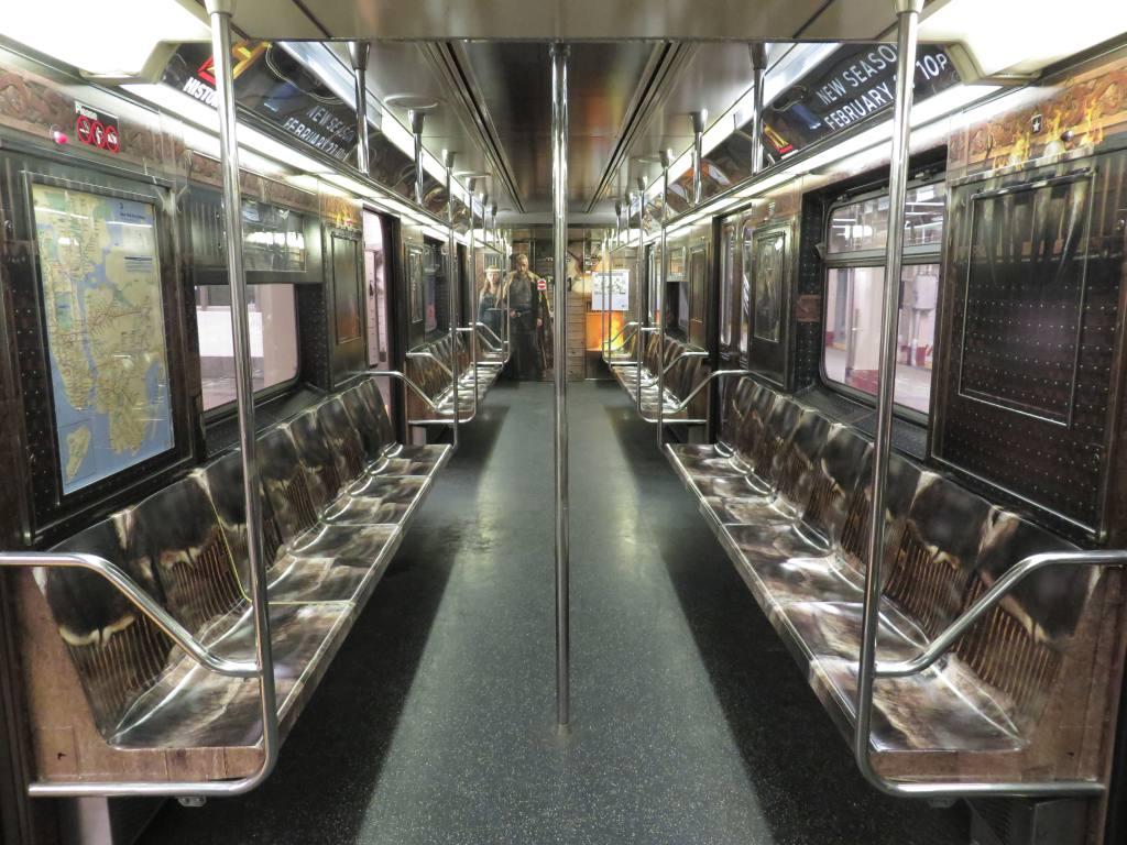 (144k, 1024x768)<br><b>Country:</b> United States<br><b>City:</b> New York<br><b>System:</b> New York City Transit<br><b>Route:</b> S<br><b>Car:</b> R-62A (Bombardier, 1984-1987)  1931 <br><b>Photo by:</b> Robbie Rosenfeld<br><b>Date:</b> 2/19/2014<br><b>Notes:</b> Vikings tv show wrap<br><b>Viewed (this week/total):</b> 0 / 739