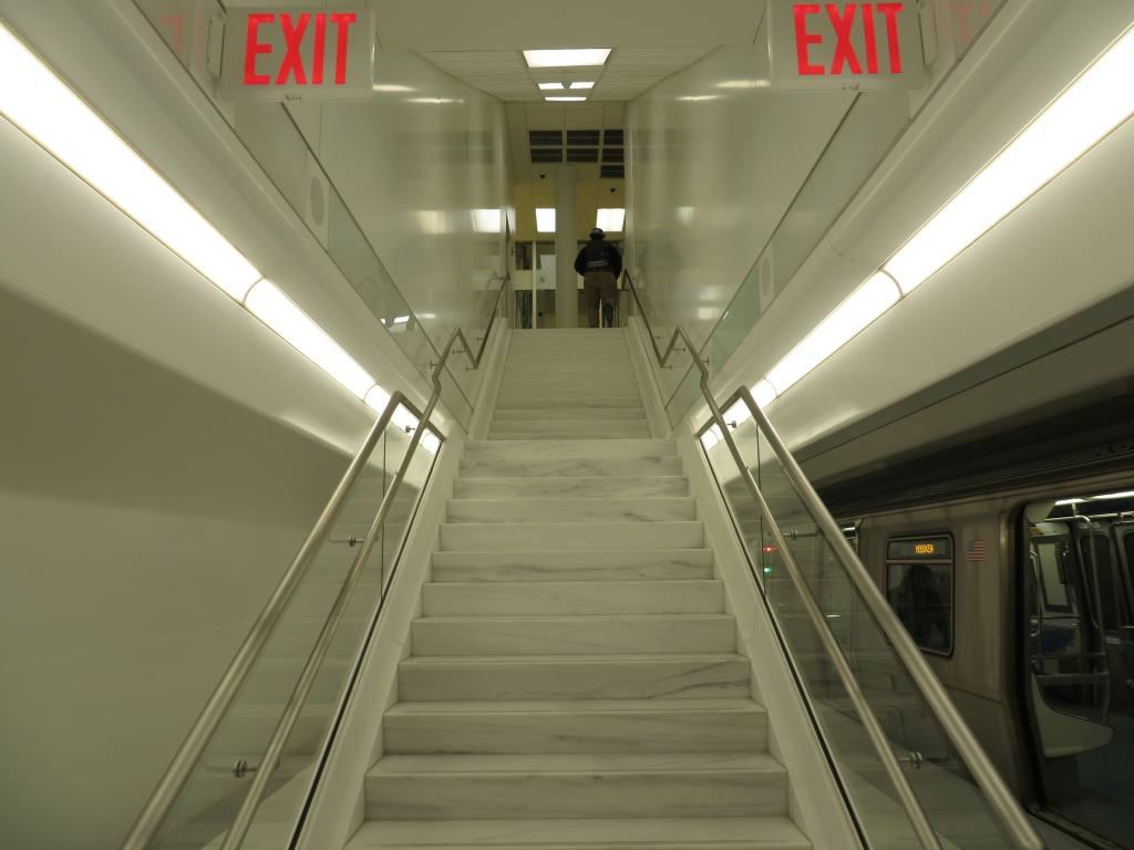 (75k, 1024x768)<br><b>Country:</b> United States<br><b>City:</b> New York<br><b>System:</b> PATH<br><b>Location:</b> World Trade Center <br><b>Photo by:</b> Robbie Rosenfeld<br><b>Date:</b> 2/25/2014<br><b>Notes:</b> Platform 1<br><b>Viewed (this week/total):</b> 3 / 861