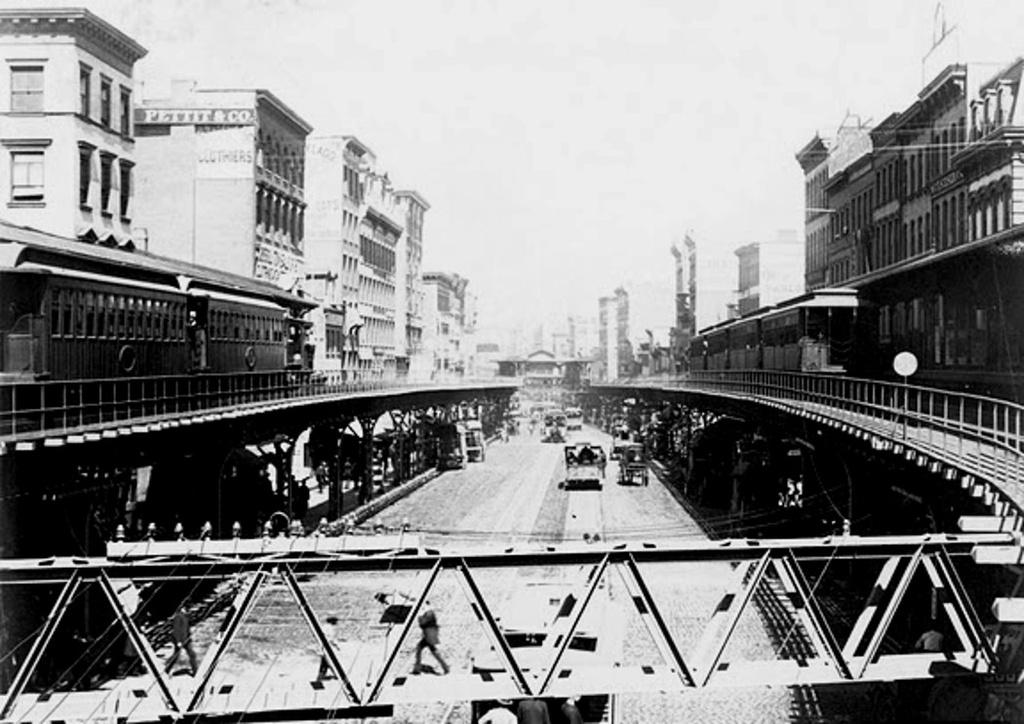 (225k, 1024x724)<br><b>Country:</b> United States<br><b>City:</b> New York<br><b>System:</b> New York City Transit<br><b>Line:</b> 3rd Avenue El<br><b>Location:</b> Canal Street <br><b>Collection of:</b> Frank Pfuhler<br><b>Date:</b> 1884<br><b>Viewed (this week/total):</b> 0 / 730