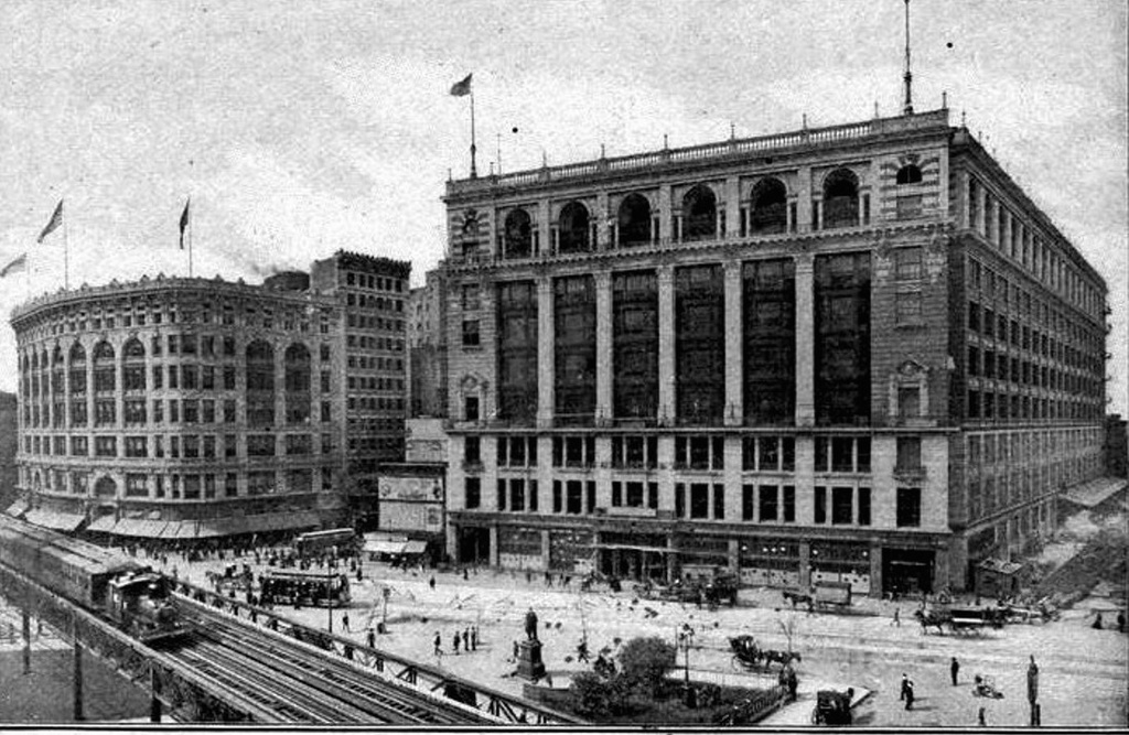 (274k, 1024x667)<br><b>Country:</b> United States<br><b>City:</b> New York<br><b>System:</b> New York City Transit<br><b>Line:</b> 6th Avenue El<br><b>Location:</b> 33rd Street <br><b>Collection of:</b> Frank Pfuhler<br><b>Date:</b> 1903<br><b>Viewed (this week/total):</b> 1 / 698
