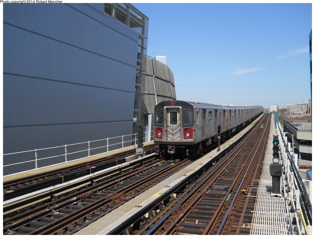 (394k, 1044x788)<br><b>Country:</b> United States<br><b>City:</b> New York<br><b>System:</b> New York City Transit<br><b>Line:</b> IRT Woodlawn Line<br><b>Location:</b> 161st Street/River Avenue (Yankee Stadium) <br><b>Route:</b> 4<br><b>Car:</b> R-142 (Option Order, Bombardier, 2002-2003)  7150 <br><b>Photo by:</b> Robert Mencher<br><b>Date:</b> 4/10/2014<br><b>Viewed (this week/total):</b> 0 / 678
