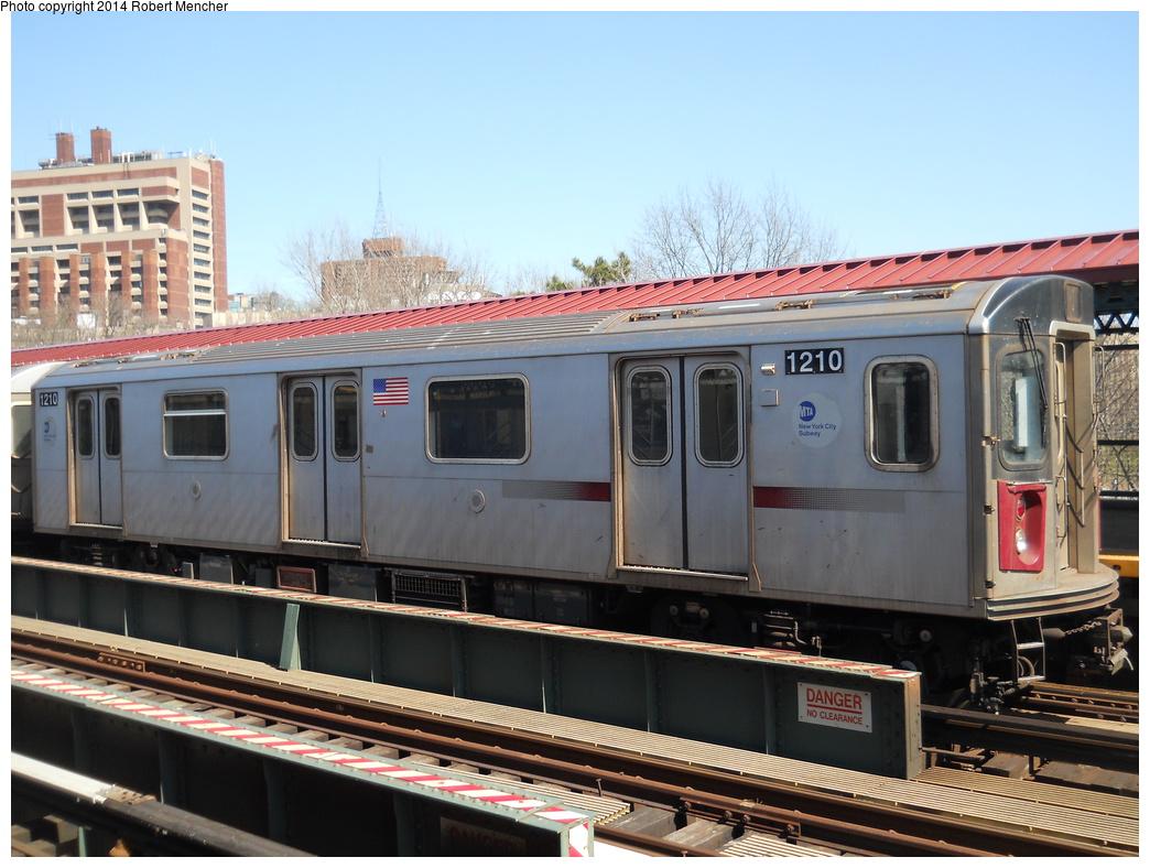 (362k, 1044x788)<br><b>Country:</b> United States<br><b>City:</b> New York<br><b>System:</b> New York City Transit<br><b>Line:</b> IRT Woodlawn Line<br><b>Location:</b> Mosholu Parkway <br><b>Route:</b> 4<br><b>Car:</b> R-142 (Option Order, Bombardier, 2002-2003)  1210 <br><b>Photo by:</b> Robert Mencher<br><b>Date:</b> 4/10/2014<br><b>Viewed (this week/total):</b> 1 / 1006