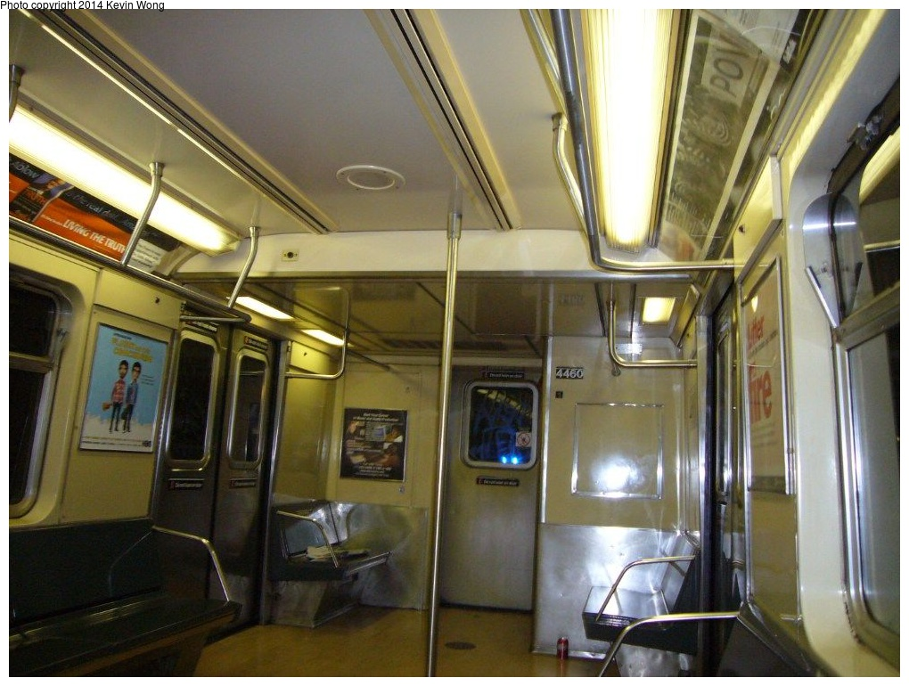 (269k, 1020x770)<br><b>Country:</b> United States<br><b>City:</b> New York<br><b>System:</b> New York City Transit<br><b>Car:</b> R-40M (St. Louis, 1969)  4460 <br><b>Photo by:</b> Kevin Wong<br><b>Date:</b> 6/11/2007<br><b>Viewed (this week/total):</b> 4 / 797