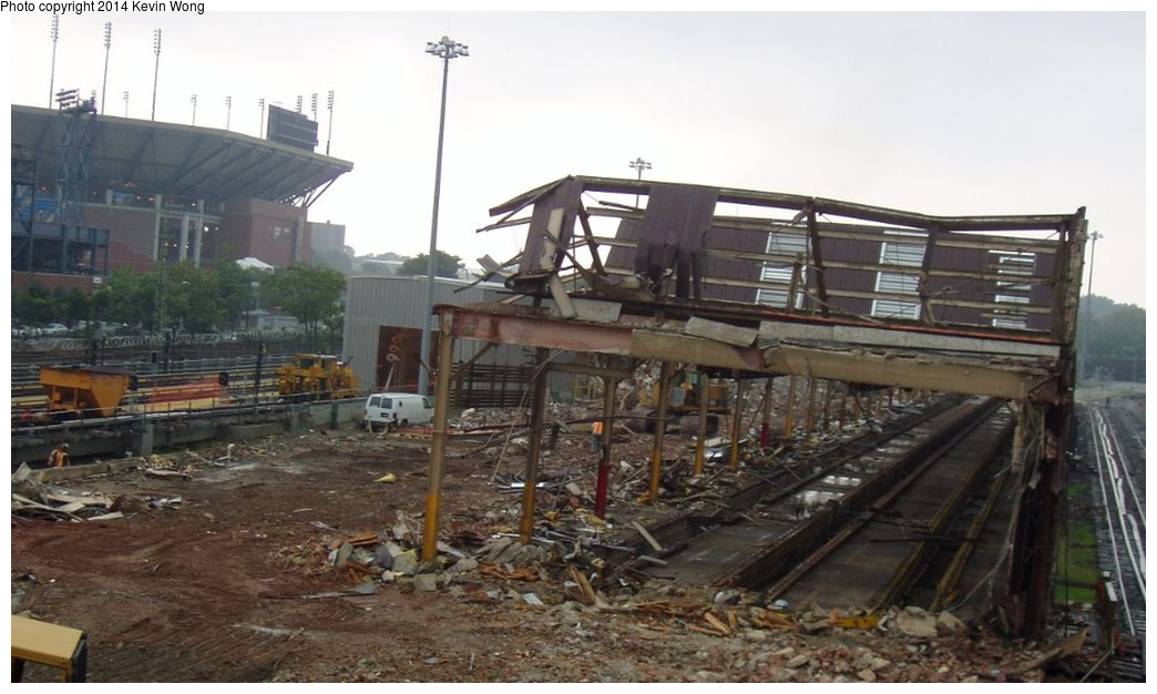 (210k, 1044x626)<br><b>Country:</b> United States<br><b>City:</b> New York<br><b>System:</b> New York City Transit<br><b>Location:</b> Corona Yard<br><b>Photo by:</b> Kevin Wong<br><b>Date:</b> 8/25/2007<br><b>Notes:</b> Old shop demolition<br><b>Viewed (this week/total):</b> 0 / 964