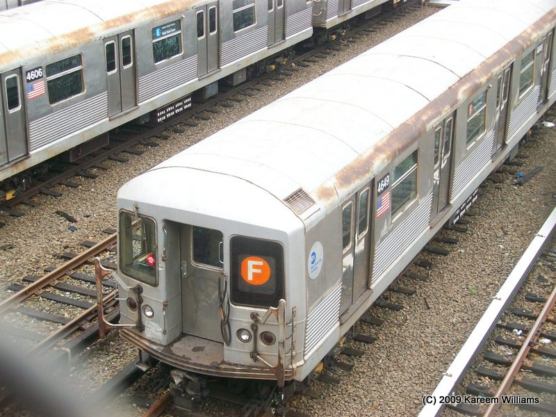 (133k, 800x600)<br><b>Country:</b> United States<br><b>City:</b> New York<br><b>System:</b> New York City Transit<br><b>Location:</b> Concourse Yard<br><b>Car:</b> R-42 (St. Louis, 1969-1970)  4649 <br><b>Photo by:</b> Kareem Williams<br><b>Date:</b> 6/3/2009<br><b>Viewed (this week/total):</b> 4 / 804