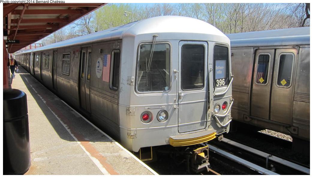 (268k, 1044x595)<br><b>Country:</b> United States<br><b>City:</b> New York<br><b>System:</b> New York City Transit<br><b>Line:</b> SIRT<br><b>Location:</b> Tottenville <br><b>Car:</b> R-44 SIRT (St. Louis, 1971-1973) 396 <br><b>Photo by:</b> Bernard Chatreau<br><b>Date:</b> 4/14/2011<br><b>Viewed (this week/total):</b> 1 / 925