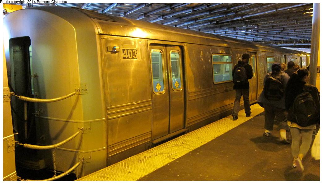 (293k, 1044x595)<br><b>Country:</b> United States<br><b>City:</b> New York<br><b>System:</b> New York City Transit<br><b>Line:</b> SIRT<br><b>Location:</b> St. George <br><b>Car:</b> R-44 SIRT (St. Louis, 1971-1973) 403 <br><b>Photo by:</b> Bernard Chatreau<br><b>Date:</b> 4/14/2011<br><b>Viewed (this week/total):</b> 0 / 747