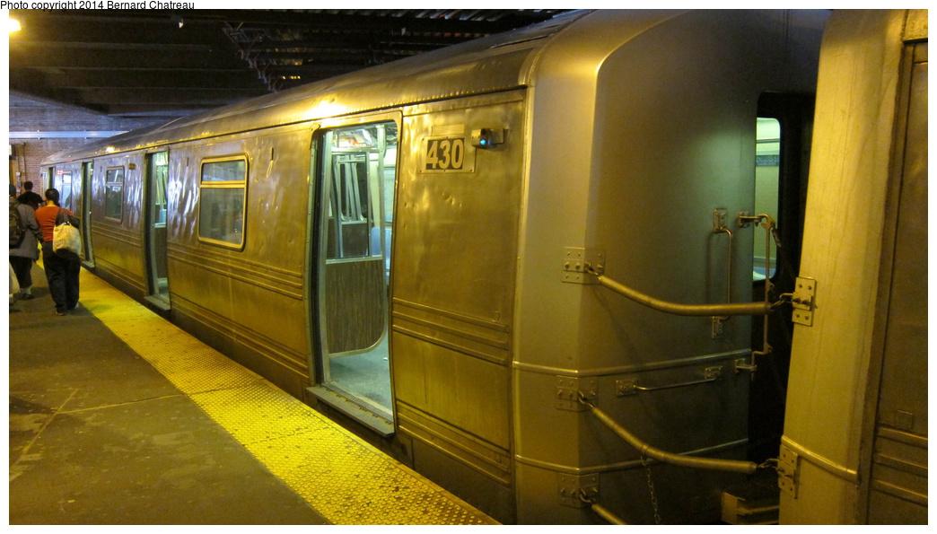 (254k, 1044x595)<br><b>Country:</b> United States<br><b>City:</b> New York<br><b>System:</b> New York City Transit<br><b>Line:</b> SIRT<br><b>Location:</b> St. George <br><b>Car:</b> R-44 SIRT (St. Louis, 1971-1973) 430 <br><b>Photo by:</b> Bernard Chatreau<br><b>Date:</b> 4/14/2011<br><b>Viewed (this week/total):</b> 1 / 792