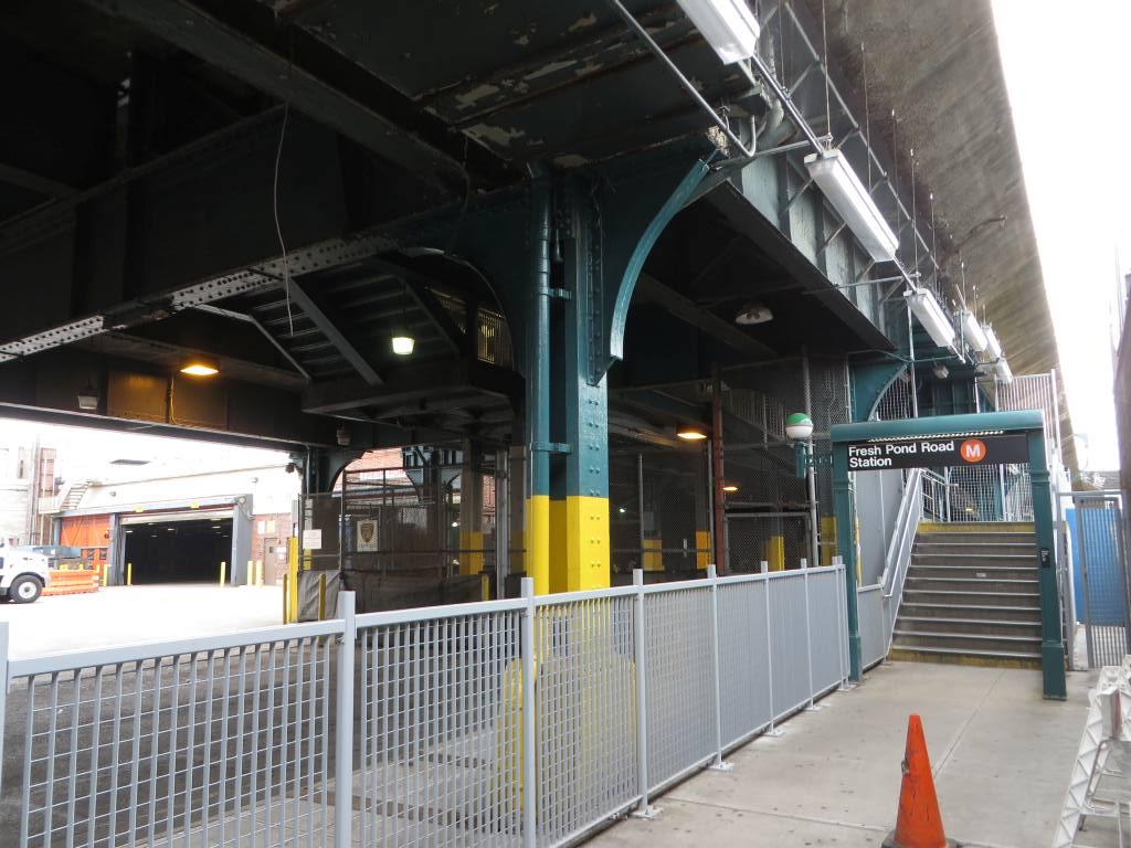(131k, 1024x768)<br><b>Country:</b> United States<br><b>City:</b> New York<br><b>System:</b> New York City Transit<br><b>Line:</b> BMT Myrtle Avenue Line<br><b>Location:</b> Fresh Pond Road <br><b>Photo by:</b> Robbie Rosenfeld<br><b>Date:</b> 5/12/2014<br><b>Viewed (this week/total):</b> 2 / 1087