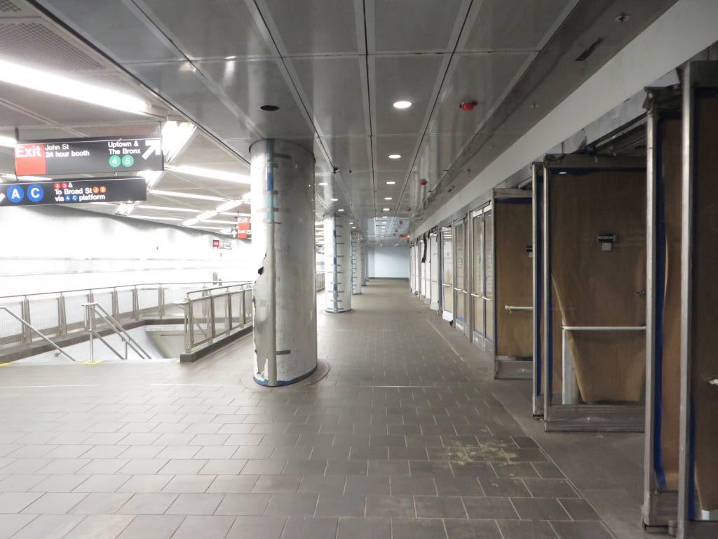 (102k, 1024x768)<br><b>Country:</b> United States<br><b>City:</b> New York<br><b>System:</b> New York City Transit<br><b>Location:</b> Fulton Street Transit Center<br><b>Photo by:</b> Robbie Rosenfeld<br><b>Date:</b> 5/26/2014<br><b>Viewed (this week/total):</b> 0 / 424