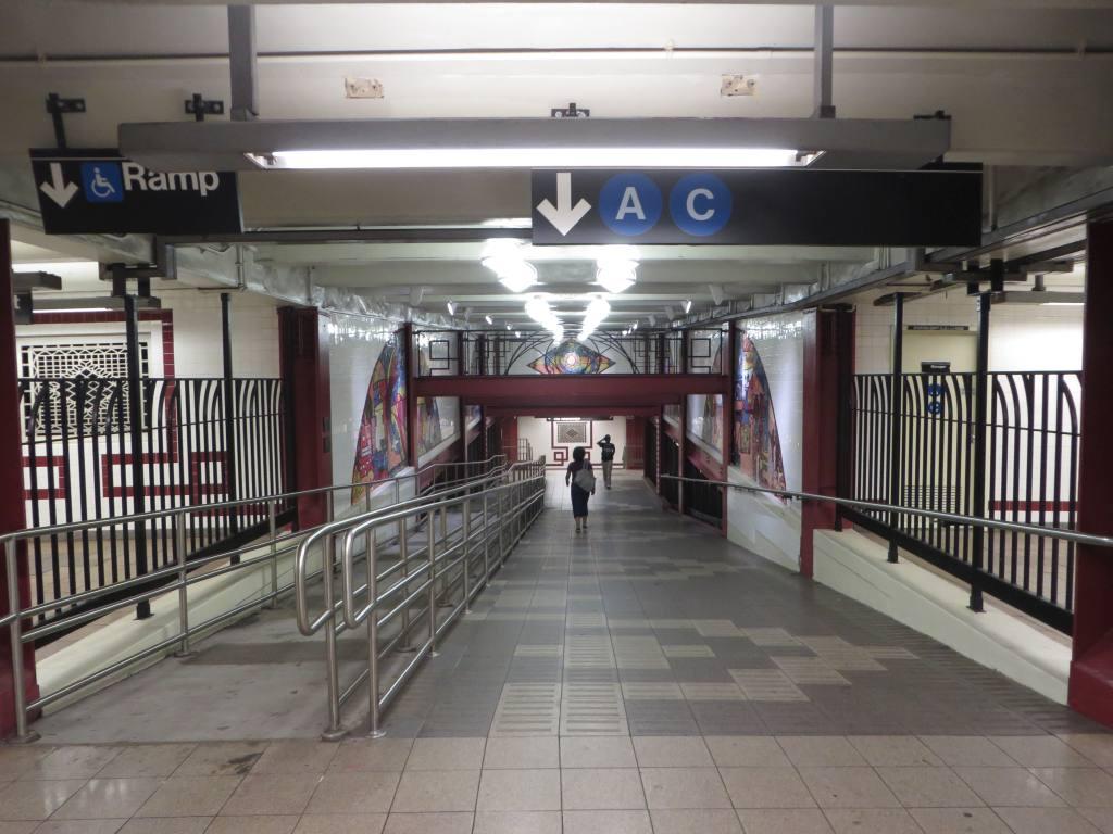 (117k, 1024x768)<br><b>Country:</b> United States<br><b>City:</b> New York<br><b>System:</b> New York City Transit<br><b>Line:</b> IND Fulton Street Line<br><b>Location:</b> Utica Avenue <br><b>Photo by:</b> Robbie Rosenfeld<br><b>Date:</b> 5/27/2014<br><b>Viewed (this week/total):</b> 1 / 1225