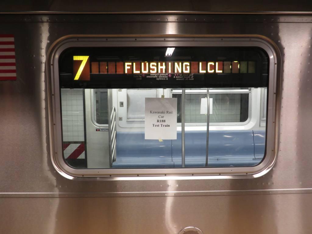 (83k, 1024x768)<br><b>Country:</b> United States<br><b>City:</b> New York<br><b>System:</b> New York City Transit<br><b>Line:</b> IRT Flushing Line<br><b>Location:</b> Times Square <br><b>Route:</b> Test<br><b>Car:</b> R-188 (R-142A Conversion, Kawasaki, 1999-2002) 7237 <br><b>Photo by:</b> Robbie Rosenfeld<br><b>Date:</b> 5/14/2014<br><b>Viewed (this week/total):</b> 0 / 1214