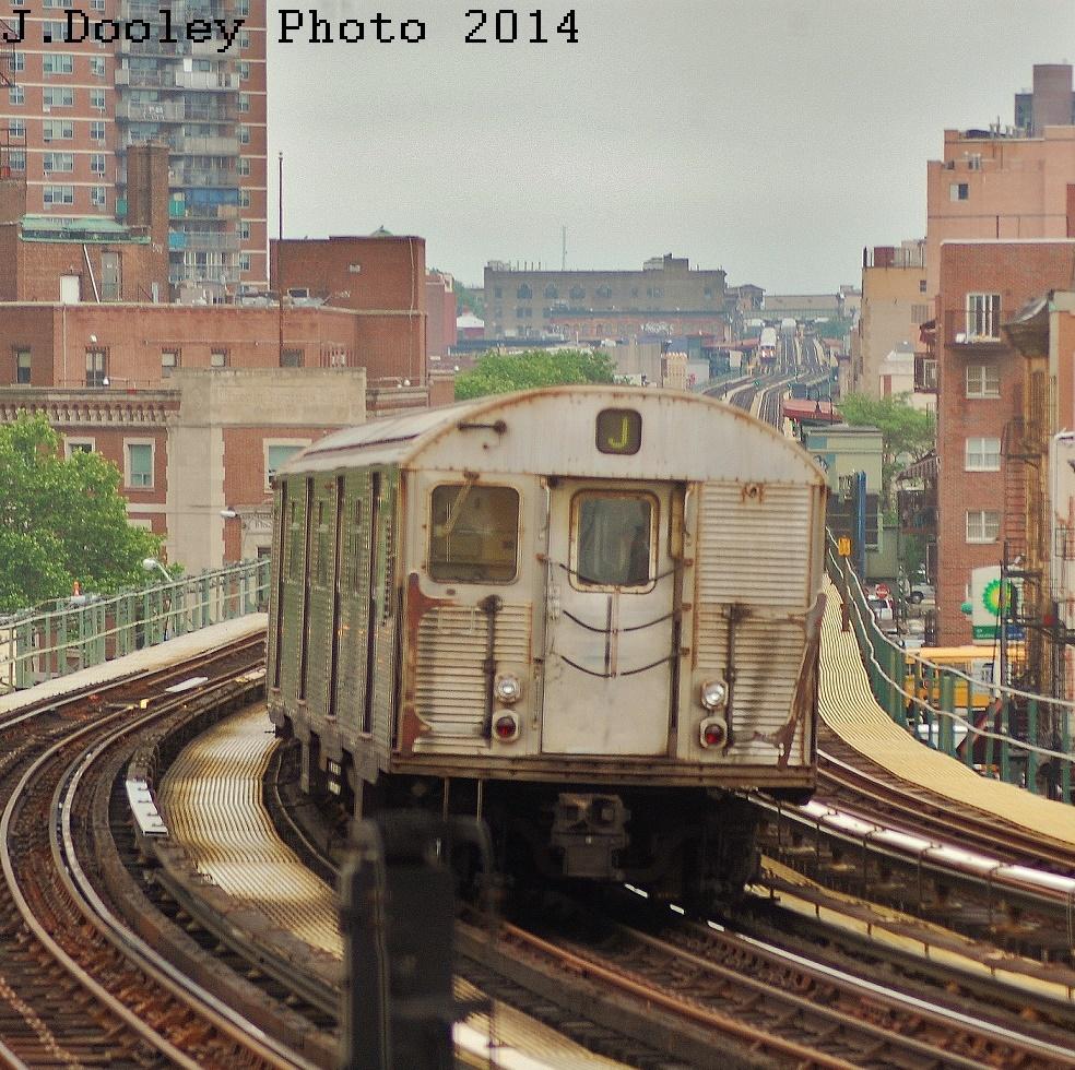 (551k, 984x980)<br><b>Country:</b> United States<br><b>City:</b> New York<br><b>System:</b> New York City Transit<br><b>Line:</b> BMT Nassau Street/Jamaica Line<br><b>Location:</b> Hewes Street <br><b>Route:</b> J<br><b>Car:</b> R-32 (Budd, 1964)  3838 <br><b>Photo by:</b> John Dooley<br><b>Date:</b> 6/9/2014<br><b>Viewed (this week/total):</b> 1 / 666