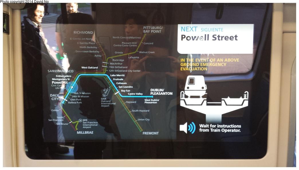 (206k, 1044x596)<br><b>Country:</b> United States<br><b>City:</b> San Francisco/Bay Area, CA<br><b>System:</b> BART<br><b>Car:</b> BART - New Rolling Stock  <br><b>Photo by:</b> David Ng<br><b>Date:</b> 4/16/2014<br><b>Notes:</b> New BART train mockup<br><b>Viewed (this week/total):</b> 1 / 2090