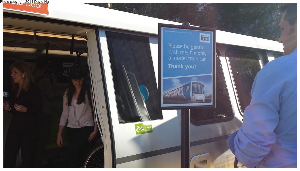 (198k, 1044x596)<br><b>Country:</b> United States<br><b>City:</b> San Francisco/Bay Area, CA<br><b>System:</b> BART<br><b>Car:</b> BART - New Rolling Stock  <br><b>Photo by:</b> David Ng<br><b>Date:</b> 4/16/2014<br><b>Notes:</b> New BART train mockup<br><b>Viewed (this week/total):</b> 1 / 1419