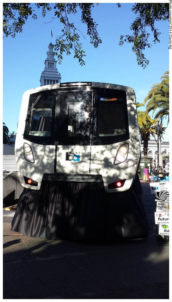 (280k, 596x1044)<br><b>Country:</b> United States<br><b>City:</b> San Francisco/Bay Area, CA<br><b>System:</b> BART<br><b>Car:</b> BART - New Rolling Stock  <br><b>Photo by:</b> David Ng<br><b>Date:</b> 4/16/2014<br><b>Notes:</b> New BART train mockup<br><b>Viewed (this week/total):</b> 2 / 1567