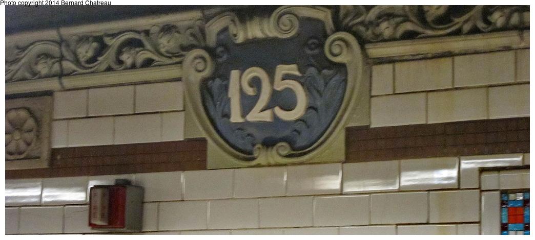 (218k, 1044x470)<br><b>Country:</b> United States<br><b>City:</b> New York<br><b>System:</b> New York City Transit<br><b>Line:</b> IRT Lenox Avenue Line<br><b>Location:</b> 125th Street<br><b>Photo by:</b> Bernard Chatreau<br><b>Date:</b> 4/12/2011<br><b>Viewed (this week/total):</b> 0 / 1129