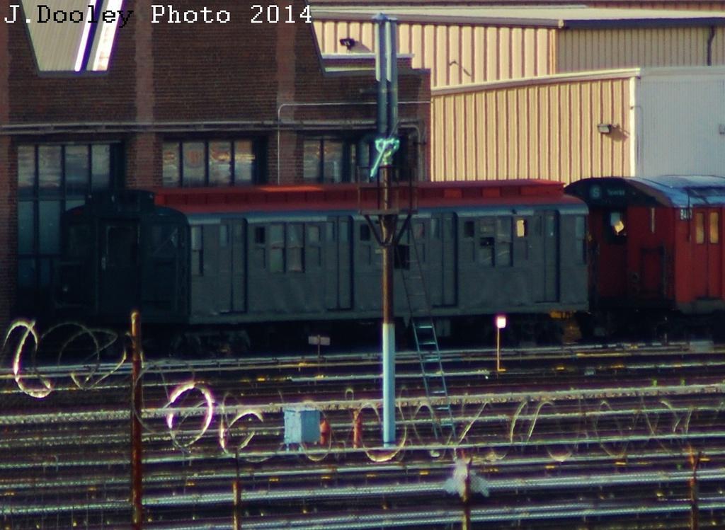 (313k, 1024x749)<br><b>Country:</b> United States<br><b>City:</b> New York<br><b>System:</b> New York City Transit<br><b>Location:</b> 207th Street Yard<br><b>Car:</b> R-1 (American Car & Foundry, 1930-1931) 103 <br><b>Photo by:</b> John Dooley<br><b>Date:</b> 6/26/2014<br><b>Viewed (this week/total):</b> 1 / 1135