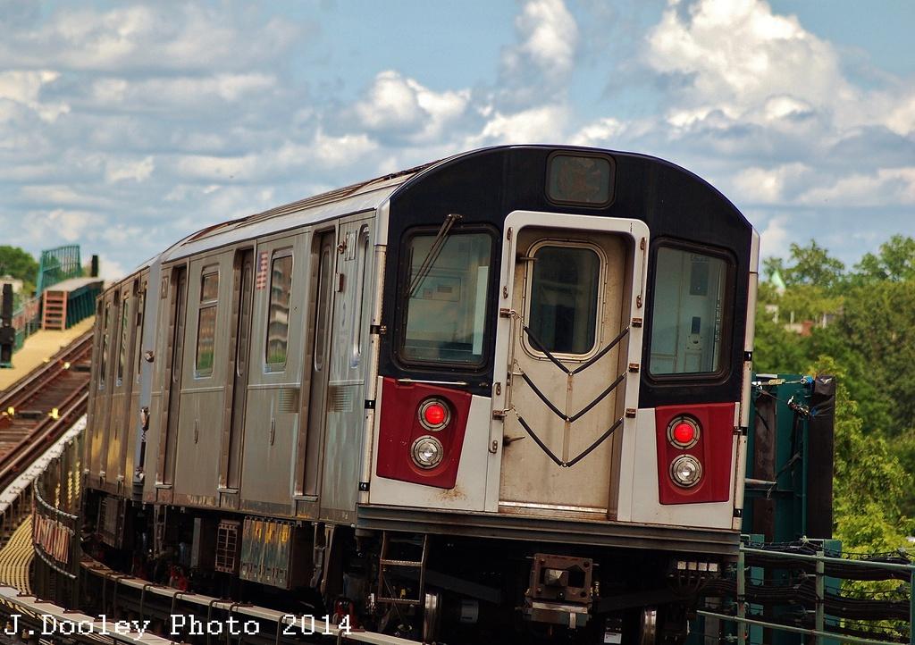 (341k, 1024x722)<br><b>Country:</b> United States<br><b>City:</b> New York<br><b>System:</b> New York City Transit<br><b>Line:</b> IRT Pelham Line<br><b>Location:</b> Westchester Square <br><b>Route:</b> 6<br><b>Car:</b> R-142A (Primary Order, Kawasaki, 1999-2002)  7471 <br><b>Photo by:</b> John Dooley<br><b>Date:</b> 6/26/2014<br><b>Viewed (this week/total):</b> 3 / 1222