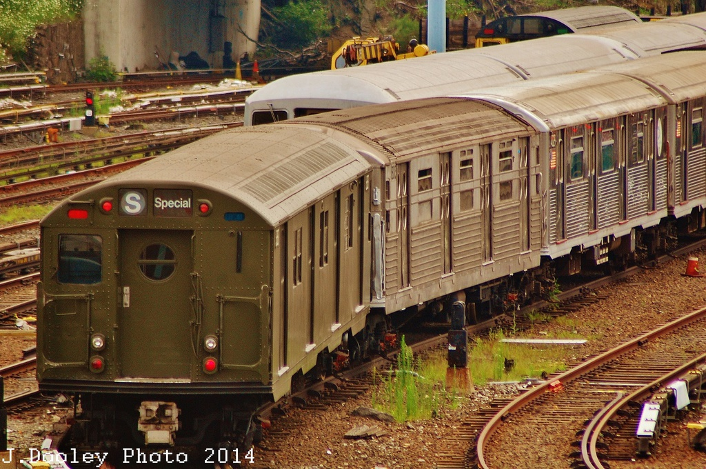 (424k, 1024x680)<br><b>Country:</b> United States<br><b>City:</b> New York<br><b>System:</b> New York City Transit<br><b>Location:</b> Concourse Yard<br><b>Car:</b> R-16 (American Car & Foundry, 1955) 6387 <br><b>Photo by:</b> John Dooley<br><b>Date:</b> 8/1/2014<br><b>Viewed (this week/total):</b> 1 / 1984