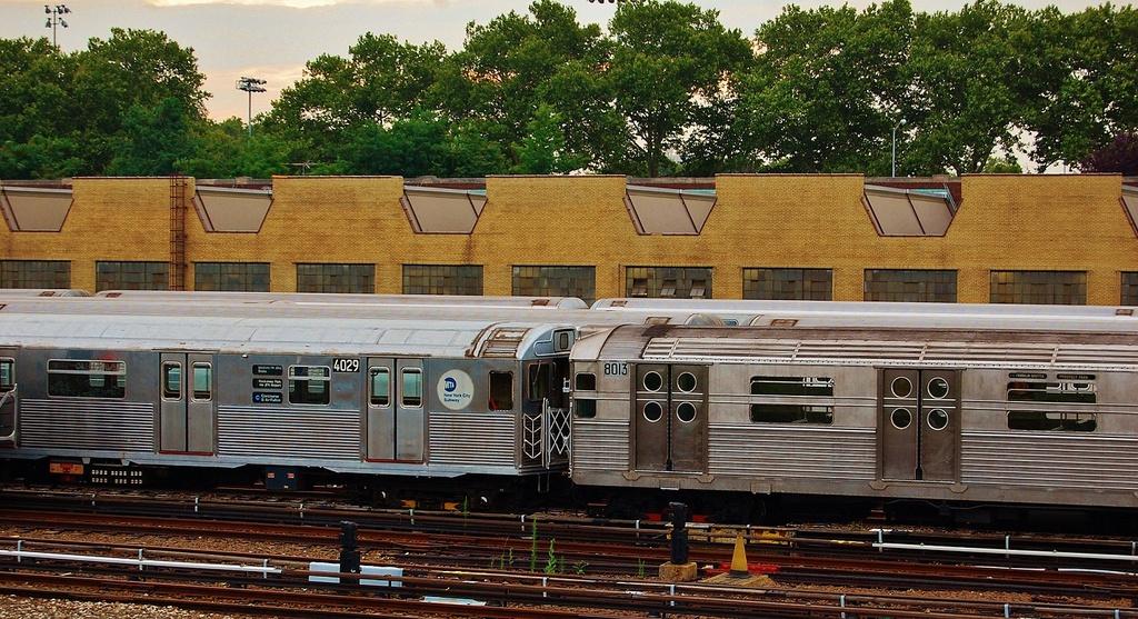 (385k, 1024x557)<br><b>Country:</b> United States<br><b>City:</b> New York<br><b>System:</b> New York City Transit<br><b>Location:</b> Concourse Yard<br><b>Route:</b> Transit Museum Nostalgia Train<br><b>Car:</b> R-38 (St. Louis, 1966-1967)  4029 <br><b>Photo by:</b> John Dooley<br><b>Date:</b> 8/1/2014<br><b>Viewed (this week/total):</b> 1 / 1144