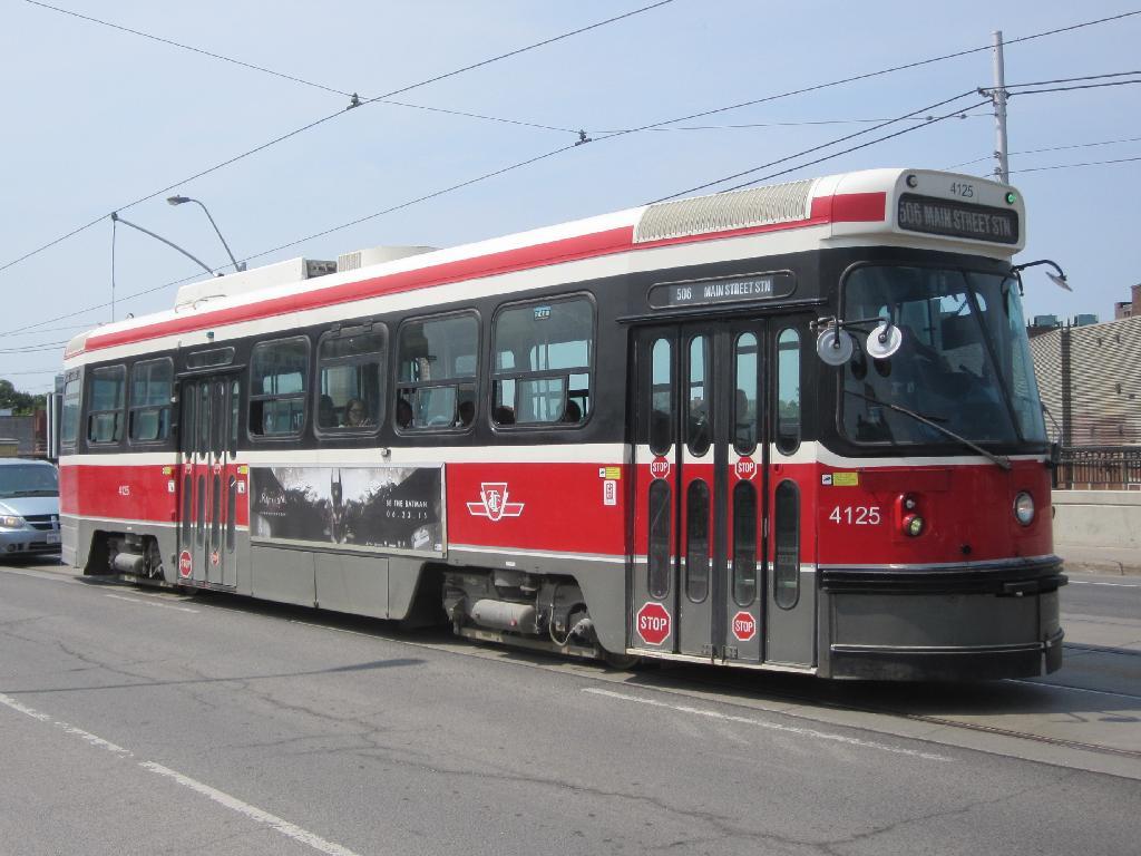 (111k, 1024x768)<br><b>Country:</b> Canada<br><b>City:</b> Toronto<br><b>System:</b> TTC<br><b>Line:</b> TTC 506-Carlton<br><b>Location:</b> Dundas/Sterling<br><b>Car:</b> TTC CLRV 4125 <br><b>Photo by:</b> Collection of nycsubway.org<br><b>Date:</b> 7/3/2015<br><b>Notes:</b> Eastbound.<br><b>Viewed (this week/total):</b> 0 / 488