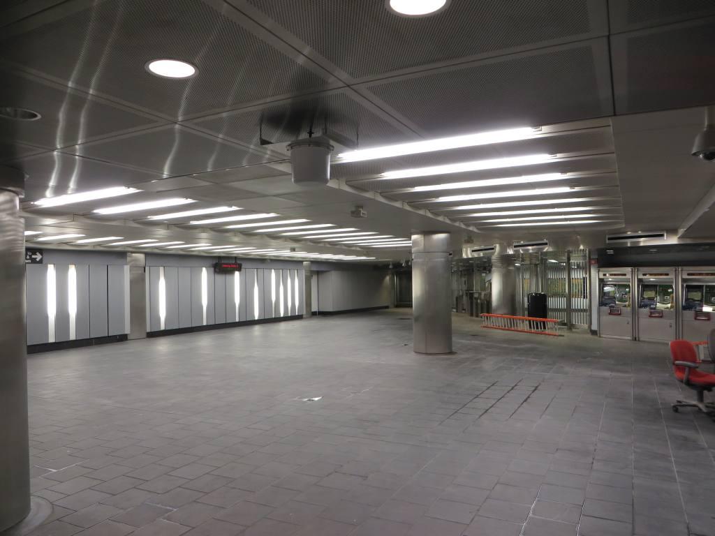 (91k, 1024x768)<br><b>Country:</b> United States<br><b>City:</b> New York<br><b>System:</b> New York City Transit<br><b>Location:</b> Fulton Street Transit Center<br><b>Photo by:</b> Robbie Rosenfeld<br><b>Date:</b> 10/22/2014<br><b>Notes:</b> Dey St. passage<br><b>Viewed (this week/total):</b> 0 / 784
