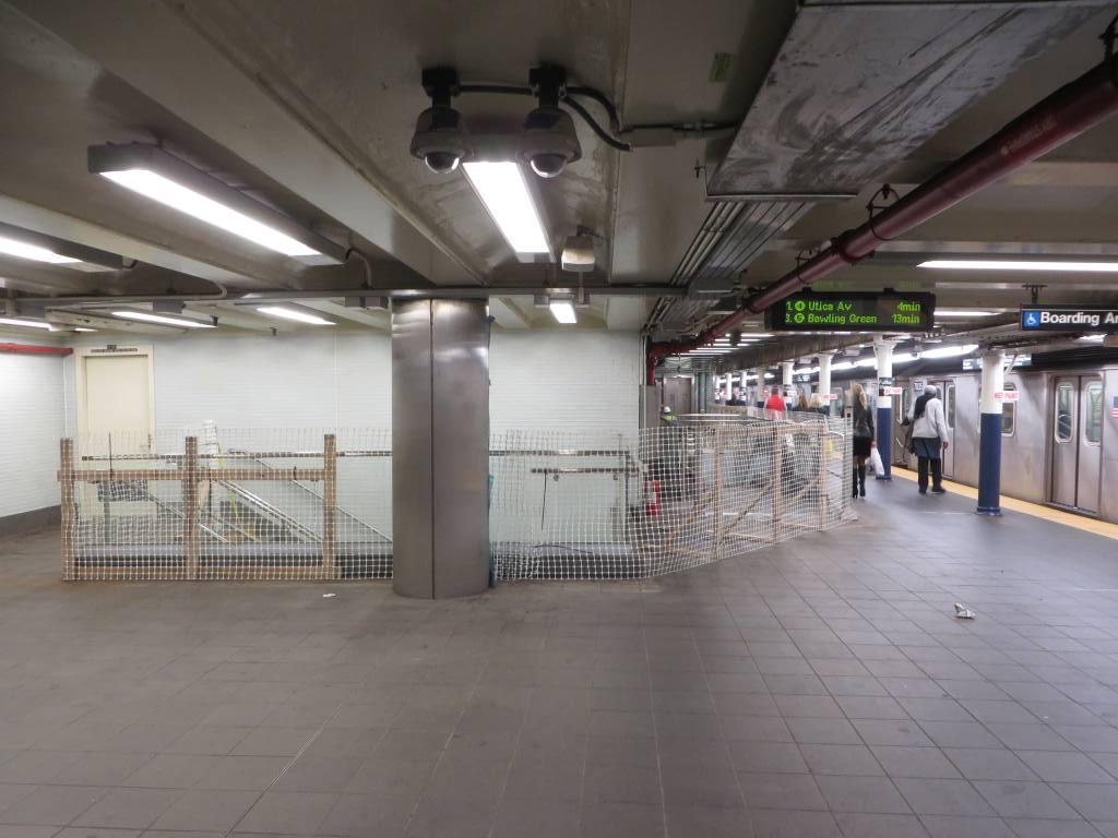 (106k, 1024x768)<br><b>Country:</b> United States<br><b>City:</b> New York<br><b>System:</b> New York City Transit<br><b>Line:</b> IRT East Side Line<br><b>Location:</b> Fulton Street <br><b>Photo by:</b> Robbie Rosenfeld<br><b>Date:</b> 10/28/2014<br><b>Viewed (this week/total):</b> 0 / 1677