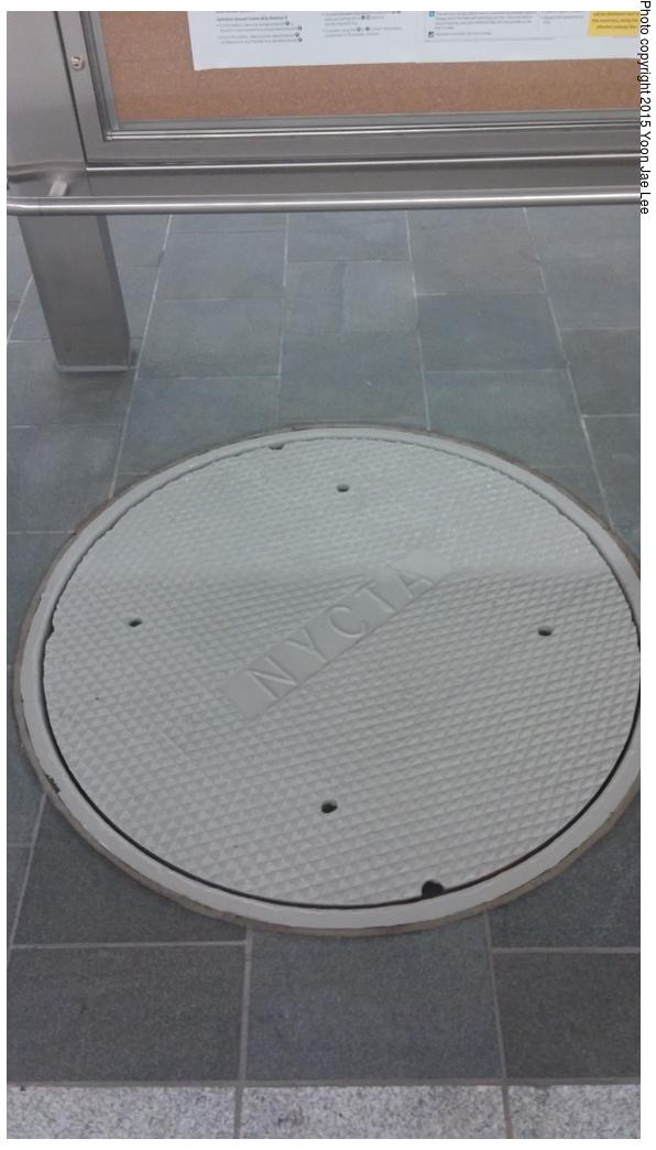 (179k, 596x1044)<br><b>Country:</b> United States<br><b>City:</b> New York<br><b>System:</b> New York City Transit<br><b>Line:</b> IRT Flushing Line<br><b>Location:</b> 34th Street-Hudson Yards <br><b>Photo by:</b> Yoon Jae Lee<br><b>Date:</b> 9/14/2015<br><b>Viewed (this week/total):</b> 4 / 760