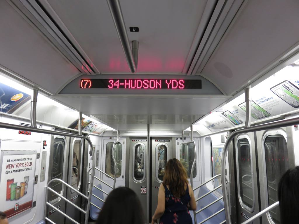 (113k, 1024x768)<br><b>Country:</b> United States<br><b>City:</b> New York<br><b>System:</b> New York City Transit<br><b>Line:</b> IRT Flushing Line<br><b>Location:</b> 34th Street-Hudson Yards <br><b>Photo by:</b> Robbie Rosenfeld<br><b>Date:</b> 9/13/2015<br><b>Viewed (this week/total):</b> 6 / 803