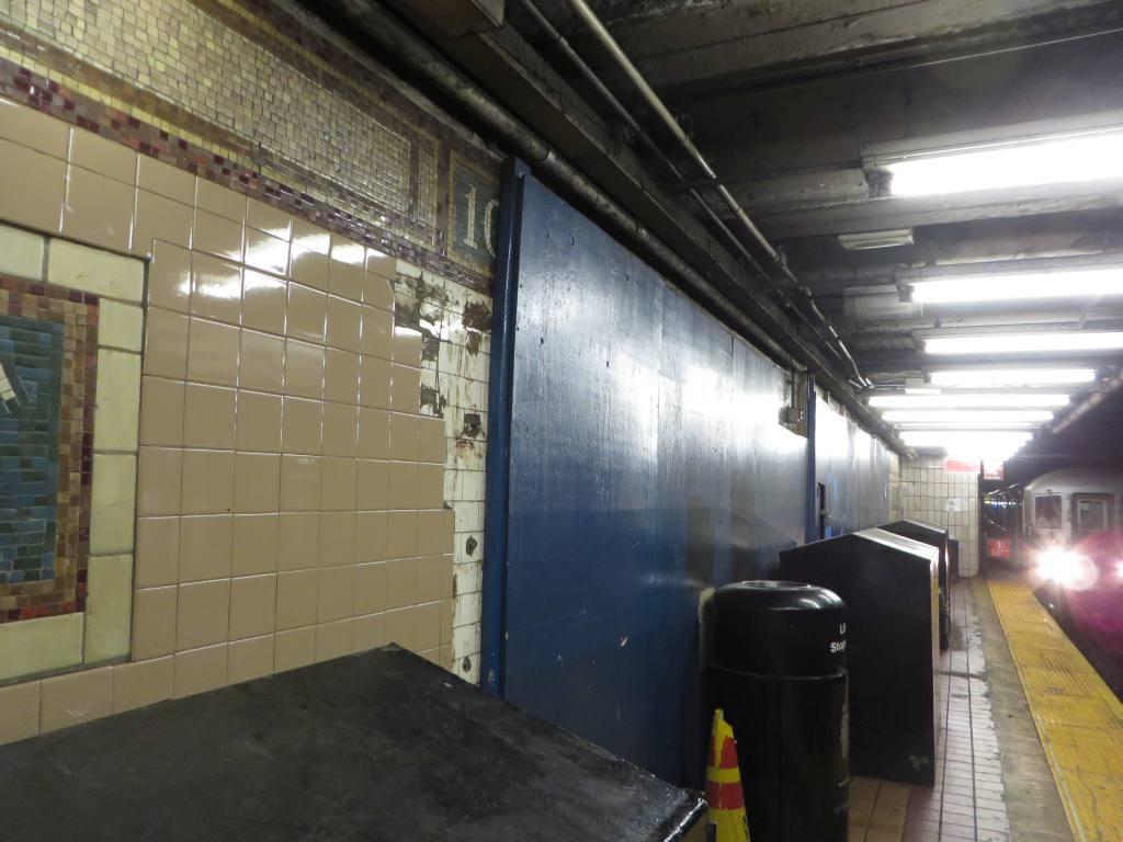 (100k, 1024x768)<br><b>Country:</b> United States<br><b>City:</b> New York<br><b>System:</b> New York City Transit<br><b>Line:</b> IRT East Side Line<br><b>Location:</b> 103rd Street <br><b>Photo by:</b> Robbie Rosenfeld<br><b>Date:</b> 7/14/2015<br><b>Viewed (this week/total):</b> 0 / 1007