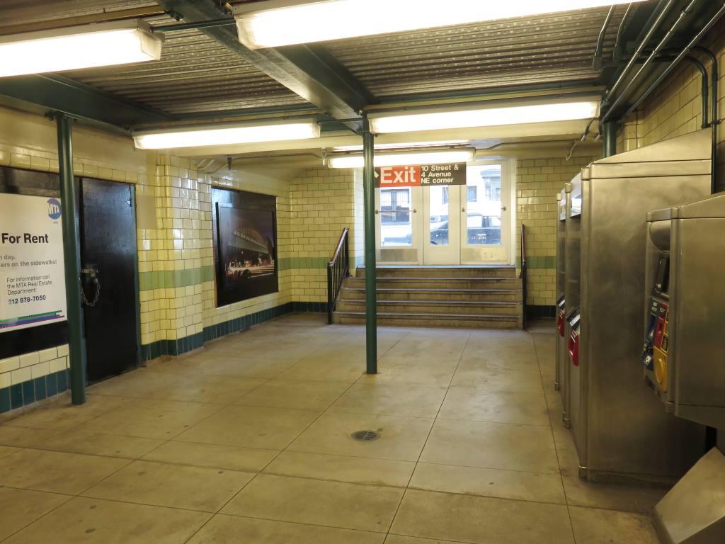 (108k, 1024x768)<br><b>Country:</b> United States<br><b>City:</b> New York<br><b>System:</b> New York City Transit<br><b>Line:</b> IND Crosstown Line<br><b>Location:</b> 4th Avenue <br><b>Photo by:</b> Robbie Rosenfeld<br><b>Date:</b> 2/14/2016<br><b>Notes:</b> Reopened entrance.<br><b>Viewed (this week/total):</b> 2 / 961