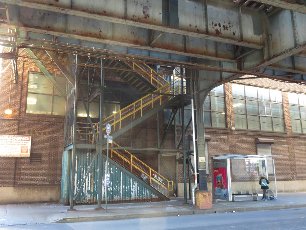 (137k, 1024x769)<br><b>Country:</b> United States<br><b>City:</b> New York<br><b>System:</b> New York City Transit<br><b>Line:</b> BMT Culver Line<br><b>Location:</b> Avenue X<br><b>Photo by:</b> Robbie Rosenfeld<br><b>Date:</b> 2/14/2016<br><b>Notes:</b> Auxiliary exit.<br><b>Viewed (this week/total):</b> 0 / 926