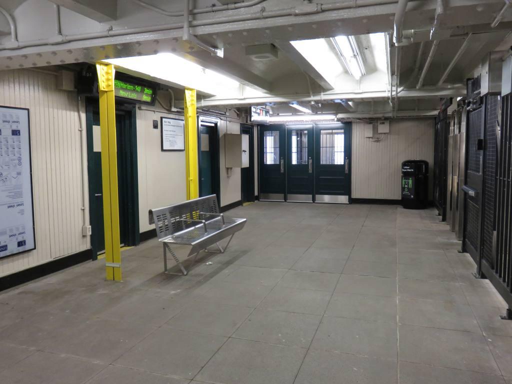 (95k, 1024x768)<br><b>Country:</b> United States<br><b>City:</b> New York<br><b>System:</b> New York City Transit<br><b>Line:</b> IRT Brooklyn Line<br><b>Location:</b> Rockaway Avenue <br><b>Photo by:</b> Robbie Rosenfeld<br><b>Date:</b> 3/28/2016<br><b>Notes:</b> Mezzanine.<br><b>Viewed (this week/total):</b> 1 / 781