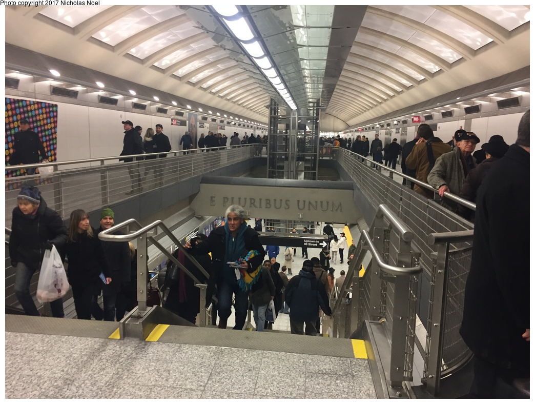 (318k, 1044x788)<br><b>Country:</b> United States<br><b>City:</b> New York<br><b>System:</b> New York City Transit<br><b>Line:</b> 2nd Avenue Subway<br><b>Location:</b> 86th Street<br><b>Photo by:</b> Nicholas Noel<br><b>Date:</b> 12/30/2016<br><b>Notes:</b> Open house at 86th Street.<br><b>Viewed (this week/total):</b> 1 / 821