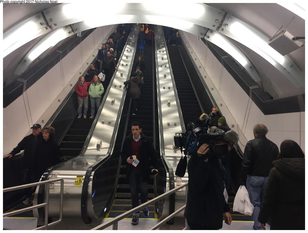 (239k, 1044x788)<br><b>Country:</b> United States<br><b>City:</b> New York<br><b>System:</b> New York City Transit<br><b>Line:</b> 2nd Avenue Subway<br><b>Location:</b> 86th Street <br><b>Photo by:</b> Nicholas Noel<br><b>Date:</b> 12/30/2016<br><b>Notes:</b> Open house at 86th Street.<br><b>Viewed (this week/total):</b> 2 / 418