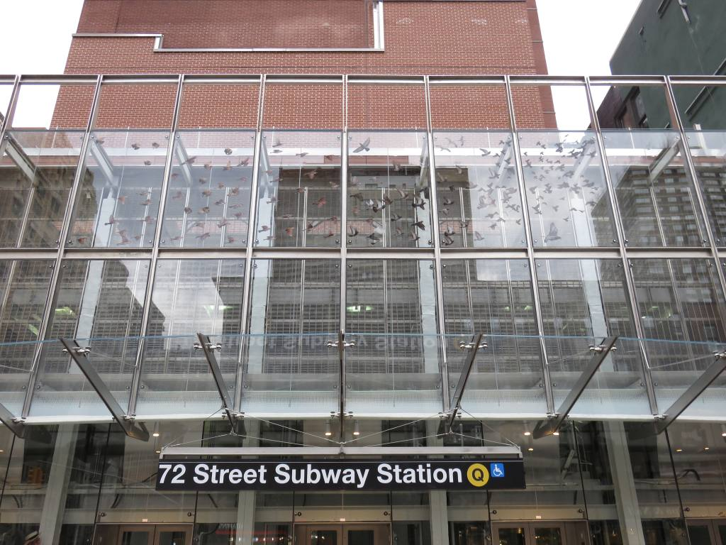 (157k, 1024x768)<br><b>Country:</b> United States<br><b>City:</b> New York<br><b>System:</b> New York City Transit<br><b>Line:</b> 2nd Avenue Subway<br><b>Location:</b> 72nd Street <br><b>Photo by:</b> Robbie Rosenfeld<br><b>Date:</b> 1/12/2017<br><b>Artwork:</b> <i>Perfect Strangers</i>, Vik Muniz (2016).<br><b>Viewed (this week/total):</b> 3 / 856