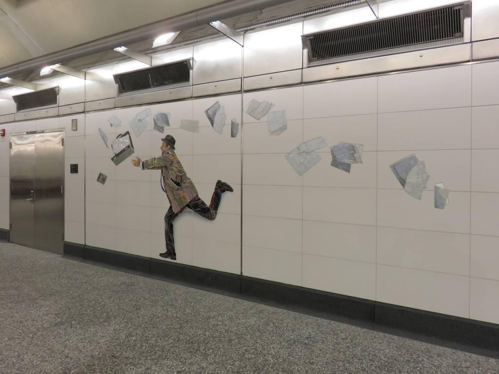 (95k, 1024x768)<br><b>Country:</b> United States<br><b>City:</b> New York<br><b>System:</b> New York City Transit<br><b>Line:</b> 2nd Avenue Subway<br><b>Location:</b> 72nd Street <br><b>Photo by:</b> Robbie Rosenfeld<br><b>Date:</b> 1/11/2017<br><b>Artwork:</b> <i>Perfect Strangers</i>, Vik Muniz (2016).<br><b>Viewed (this week/total):</b> 1 / 749