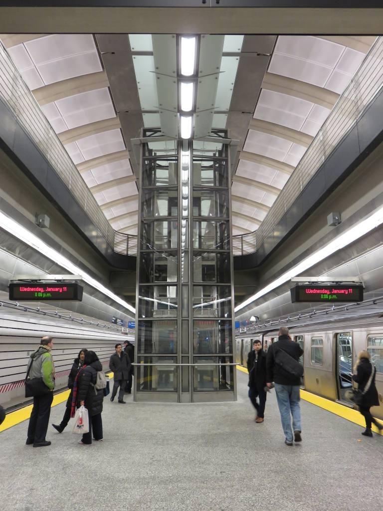 (142k, 768x1024)<br><b>Country:</b> United States<br><b>City:</b> New York<br><b>System:</b> New York City Transit<br><b>Line:</b> 2nd Avenue Subway<br><b>Location:</b> 86th Street <br><b>Photo by:</b> Robbie Rosenfeld<br><b>Date:</b> 1/11/2017<br><b>Viewed (this week/total):</b> 1 / 588