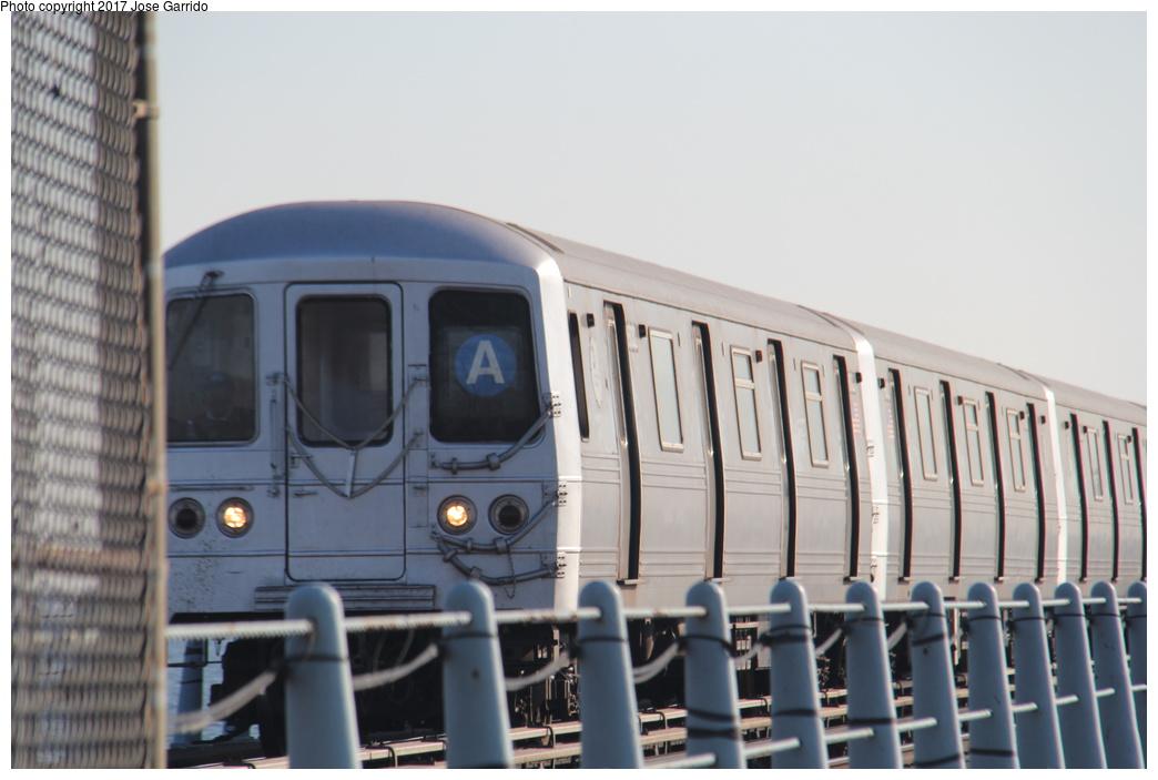 (228k, 1044x703)<br><b>Country:</b> United States<br><b>City:</b> New York<br><b>System:</b> New York City Transit<br><b>Line:</b> IND Rockaway<br><b>Location:</b> Howard Beach <br><b>Route:</b> A<br><b>Car:</b> R-46 (Pullman-Standard, 1974-75) 6032 <br><b>Photo by:</b> Jose Garrido<br><b>Date:</b> 11/17/2016<br><b>Viewed (this week/total):</b> 1 / 443