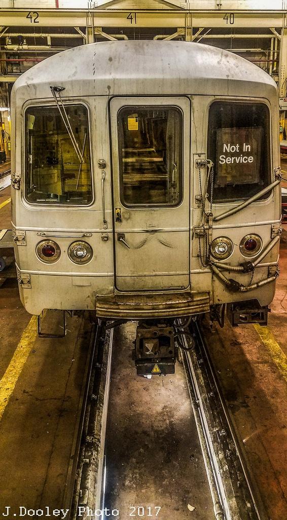 (333k, 566x1024)<br><b>Country:</b> United States<br><b>City:</b> New York<br><b>System:</b> New York City Transit<br><b>Location:</b> Coney Island Shop/Overhaul & Repair Shop<br><b>Car:</b> R-46 (Pullman-Standard, 1974-75) 6246 <br><b>Photo by:</b> John Dooley<br><b>Date:</b> 5/7/2017<br><b>Viewed (this week/total):</b> 0 / 775