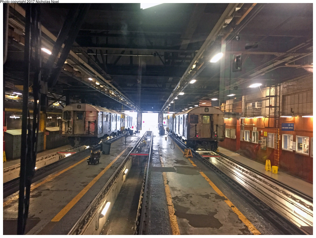 (398k, 1044x788)<br><b>Country:</b> United States<br><b>City:</b> New York<br><b>System:</b> New York City Transit<br><b>Location:</b> 207th Street Shop<br><b>Car:</b> R-32 (Budd, 1964)  3606 <br><b>Photo by:</b> Nicholas Noel<br><b>Date:</b> 7/20/2017<br><b>Viewed (this week/total):</b> 4 / 620