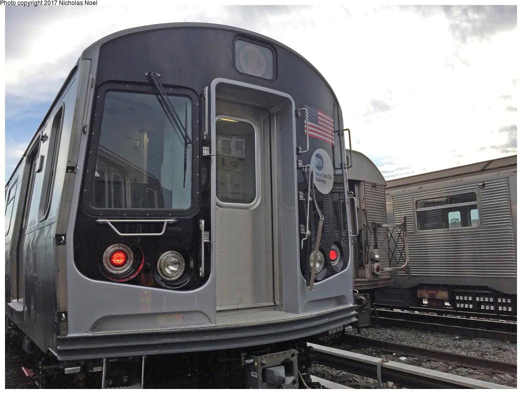 (343k, 1044x788)<br><b>Country:</b> United States<br><b>City:</b> New York<br><b>System:</b> New York City Transit<br><b>Location:</b> 207th Street Yard<br><b>Car:</b> R-179 (Bombardier, 2016-2019) 3065 <br><b>Photo by:</b> Nicholas Noel<br><b>Date:</b> 7/20/2017<br><b>Viewed (this week/total):</b> 0 / 1039