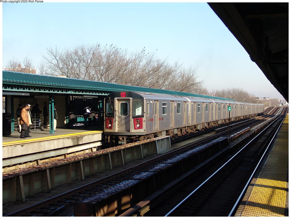 (132k, 1024x768)<br><b>Country:</b> United States<br><b>City:</b> New York<br><b>System:</b> New York City Transit<br><b>Line:</b> BMT Nassau Street/Jamaica Line<br><b>Location:</b> 85th Street/Forest Parkway <br><b>Photo by:</b> Robbie Rosenfeld<br><b>Date:</b> 2/23/2017<br><b>Viewed (this week/total):</b> 2 / 658